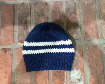 Slouchy Striped Hat