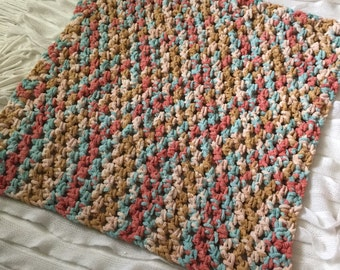 Baby Blanket, Coral Blanket, Mint Blanket
