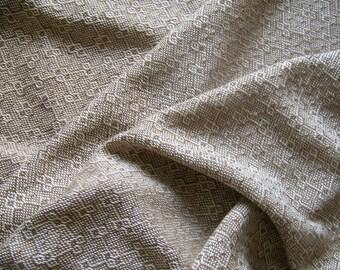 "Handspun Alpaca Handwoven Throw Blanket Afghan Lap Robe Sofa - 44""x 70"""