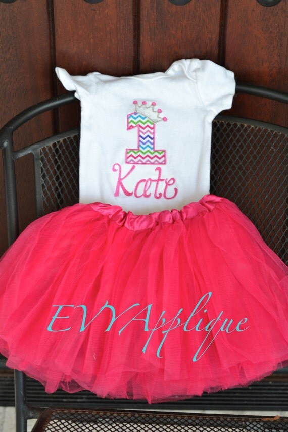 Pink Princess birthday tutu Outfit - Pink Princess birthday shirt/tee! 1st, 2nd, 3rd, 4th, 5th, etc birthday shirt or birthday outfit!