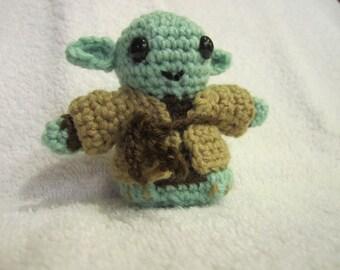 Star Wars Inspired Yoda Amigurumi Crochet Figure