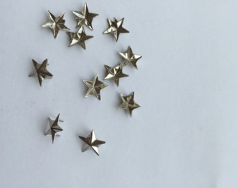 50 pcs. silver star stapling -shirts, worn over jeans