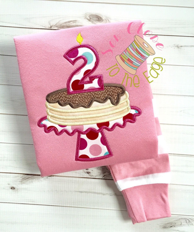 Custom Girls Pink Pancakes and Pajamas Birthday PJs Pancake