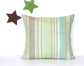 Sea Green Pillows Etsy