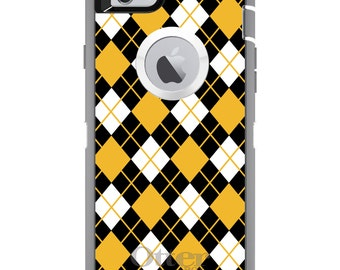 CUSTOM OtterBox Defender Case for Apple iPhone 6 6S 7 8 PLUS X 10 - Personalized Monogram - University of Missouri Mizzou Tigers Colo
