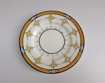Reduced Price: Minton Plate, Persian Rose, Art Deco 1930s
