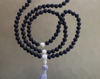 Blue Goldstone Mala // Prayer Beads // 108