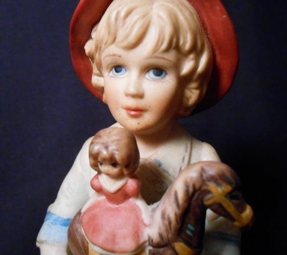 Jan Hagara Figurines: Victorian Figurine By Jan Hagara JODY & TOY HORSE Ltd Edition