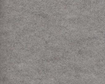 Wool Felt - Smokey Marble Grey - Sold By the Half Yard (BTHY)