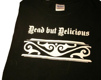 Dead but Delicious T-shirt What We Do In The Shadows, Vlad's Dress Code