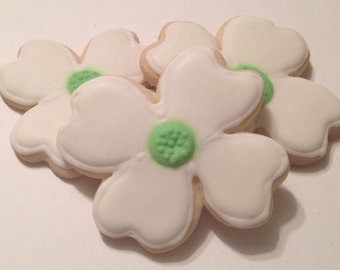 Dogwood Blossom Sugar Cookies