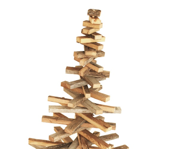 Barn Wood Strip Tree Rustic Decor Wood Tree