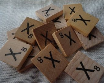 Scrabble Tile Letter X