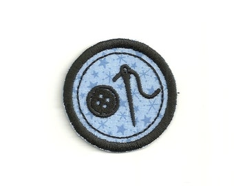 "2"" Sewing Merit Badge, Patch! Custom Made!"