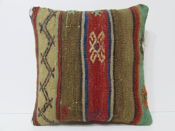 Modern Southwest Pillow : vintage pillow cover 18x18 southwest pillow by DECOLICKILIMPILLOWS