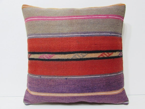 Large Shabby Chic Pillows : large kilim pillow 20x20 shabby chic home by DECOLICKILIMPILLOWS