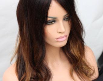 8x8 Human Hair Topper