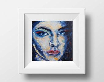 Lorde Print. Lorde Art, Lorde Painting, 12x12 Print, Signed Giclee, Lorde Music, New Zealand Art, Art, Print, Pop Painting, Pop Print