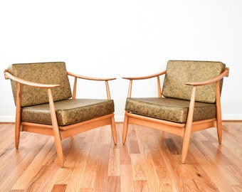 mid century chairs, mid century lounge chairs, danish chairs, beautiful mid century modern lounge chairs, matching loveseats also available