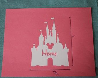 Disney Home Castle Vinyl Decal