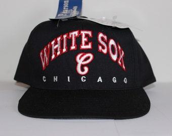 Vintage Deadstock Chicago White Sox MLB Snapback Hat
