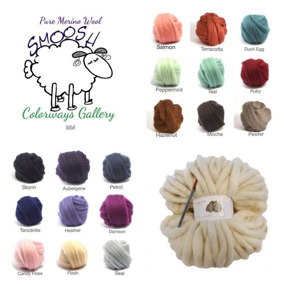Super Chunky Yarn, Giant Yarn, Chunky Blankets, Extreme Hand Spun yarn, Giant Knit