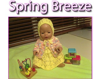 Spring Breeze To fit Baby Born and 16 or 17 inch similar size dolls