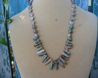 The Most Stunning Jasper Necklace You'll Ever See!