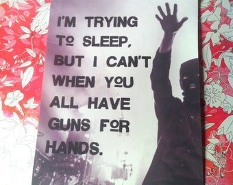 Guns For Hands Sew On Patch