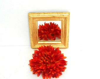 "5.5"", Wall Mirror, Small Wall Mirror, Decorative Wall Mirror, Gold Wall  Mirror, Gold Mirror, Small Wall Mirror,Item 7006"