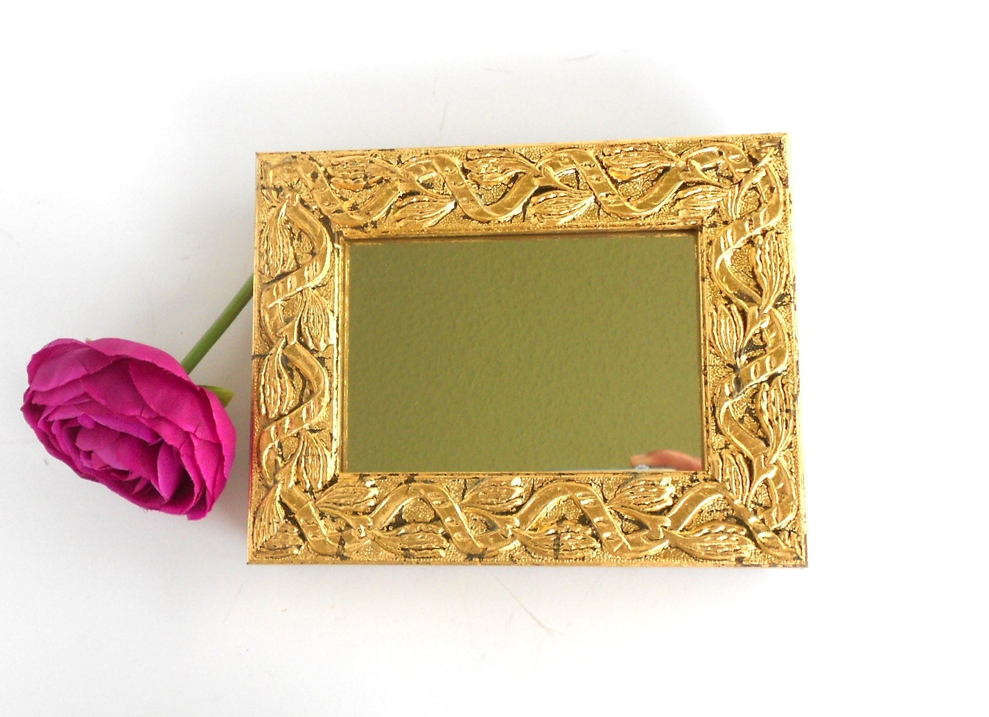 Wall Mirror Decorative Wall Mirror Gold Leaf Mirror Ornate
