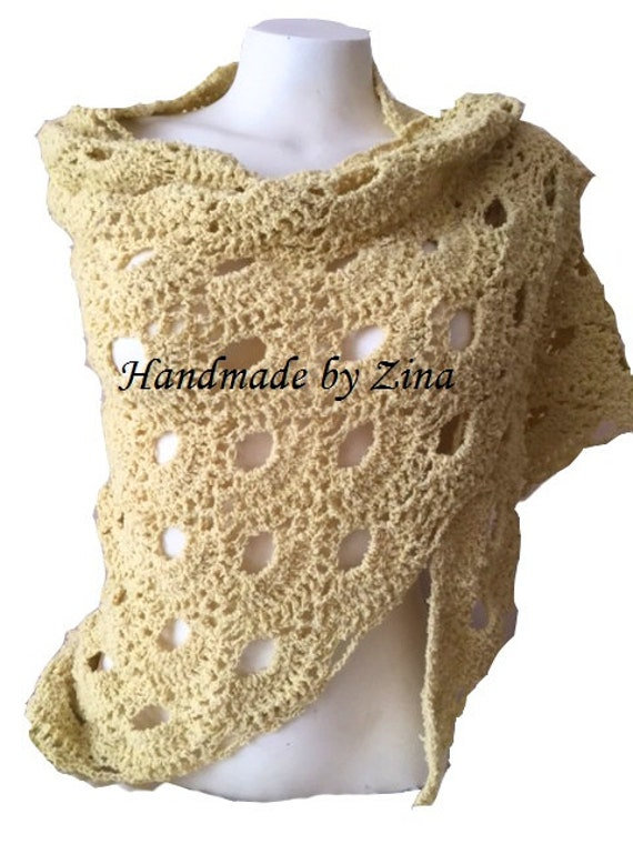Crochet Virus Yes Yes Shawl Evening Wear