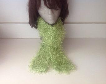 Green Scarf, fuzzy