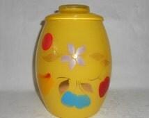 "Bartlett Collins ""Snow Orchard"" 1958-1959 UTILITY / Cookie Jar 3 Quart"