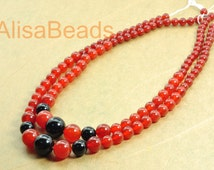 Rainbow Agate, smooth round tower necklace,DIY handmade wholesale beads,6-14mm,15.6 inches