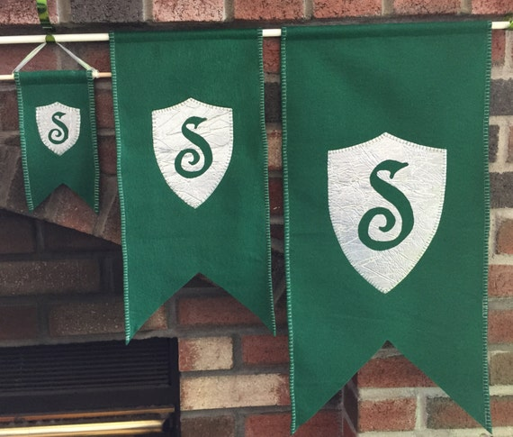 Slytherin House Banner by Dariti Designs
