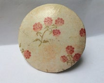Salvaged Furniture Knob Turned Vintage Magnet - Gift Idea or Home Accent
