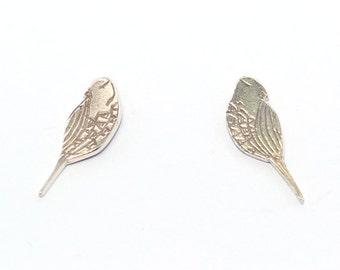 Sterling silver Birds Studs