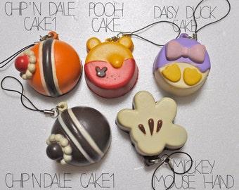 Squishy Disney Dessert Charm