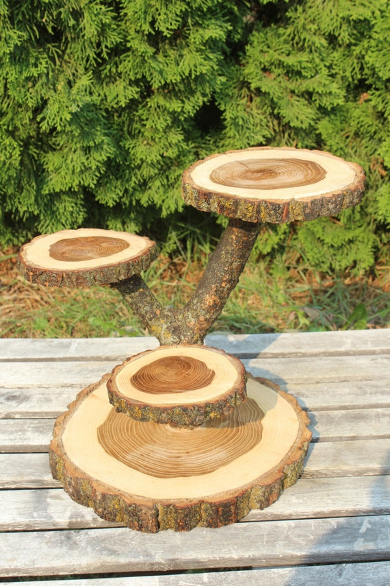 Trees Cake Stand