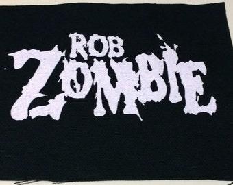 ROB ZOMBIE patch goth metal rock punk Free Shipping