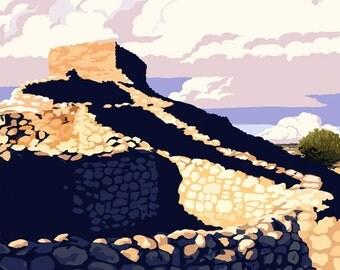 Tuzigoot National Monument - Arizona (Art Prints available in multiple sizes)