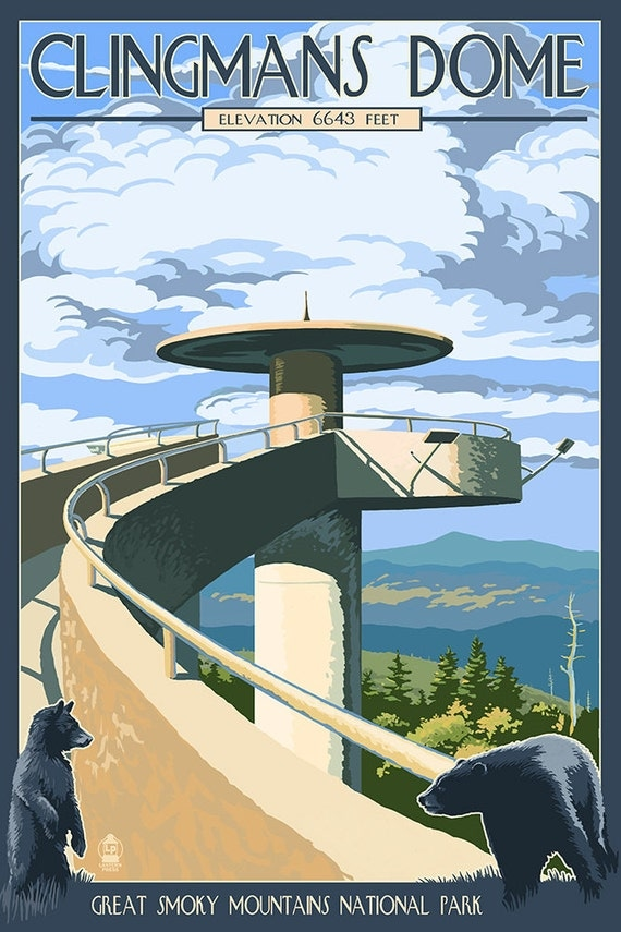 clingmans dome elevation - 490×736
