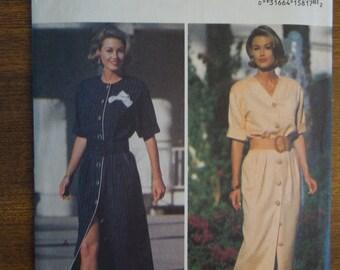 Butterick 6688, sizes 12-16, Misses, womens, UNCUT sewing pattern, craft supplies, dress