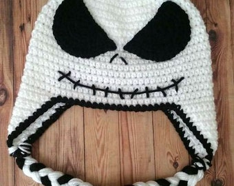 Crochet Nightmare Before Chirstmas JackHat