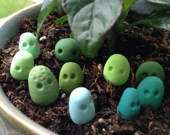 Blue and Green Terrarium Guardian Spirits
