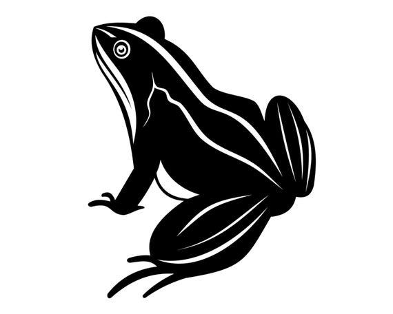 Frog Decal Frog Sticker Rainforest Decal Frog Lover