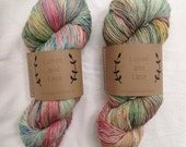 Wild Flowers ~ Lichen and Lace Hand Dyed Yarn
