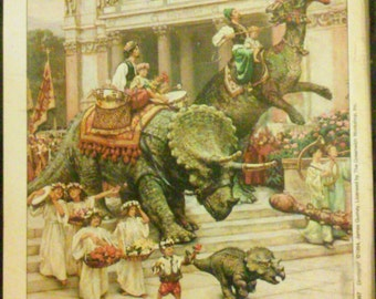 Dinotopia by James Gurney Book Plates