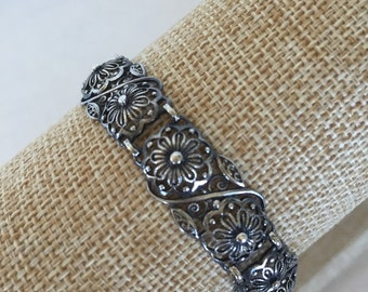 Sale Sterling filagree bracelet